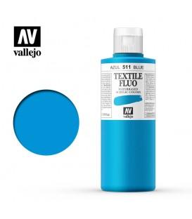 511 Azul fluorescente Textile Color Vallejo 200 ml.