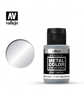 77.706 Alumini Blanc Metal Color 32 ml.