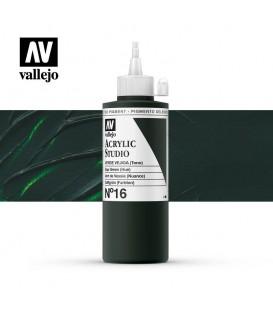 36) Acrilico Vallejo Studio 200 ml. 16 Verde Vejiga (Tono)