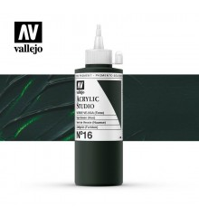 36) Acrilico Vallejo Studio 200 ml. 16 Sap Green (Hue)