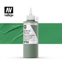 35) Acrilico Vallejo Studio 200 ml. 56 Chromium Green