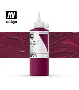 20) Acrylique Vallejo Studio 200 ml. 23 Magenta