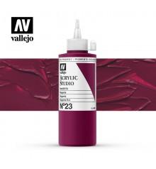 20) Acrilico Vallejo Studio 200 ml. 23 Magenta