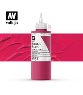 18) Acrilico Vallejo Studio 200 ml. 57 Rojo Rosa Azo