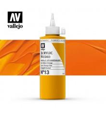 08) Acrilic Vallejo Studio 200 ml. 13 Groc Taronja Azo