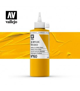 07) Acrilico Vallejo Studio 200 ml. 60 Cadmium Yellow (Hue)