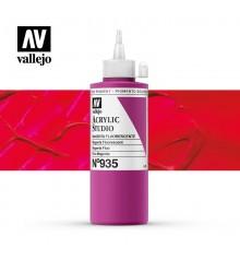 57) Acrilic Vallejo Studio 200 ml. 935 Magenta Fluorescent