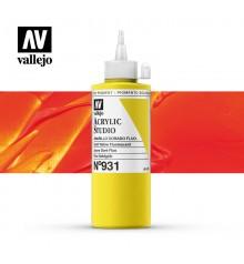 53) Acriique Vallejo Studio 200 ml. 931 Jaune Doré Fluo