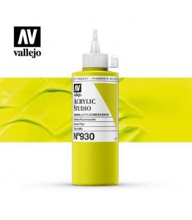 52) Acrilic Vallejo Studio 200 ml. 930 Groc Fluorescent