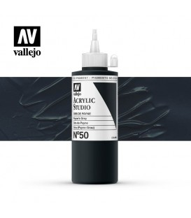 47) Acrylic Vallejo Studio 200 ml. 50 Payne's Grey