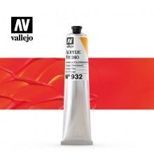 54) Acrilic Vallejo Studio 58 ml. 932 Taronja Fluorescent