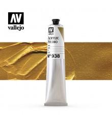 49) Acrilic Vallejo Studio 58 ml. 938 Or