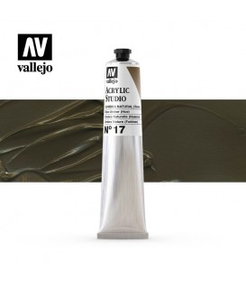 43) Acrilico Vallejo Studio 58 ml. 17 Raw Umber (Hue)