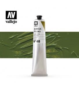 37) Acrilic Vallejo Studio 58 ml. 48 Verd Oliva