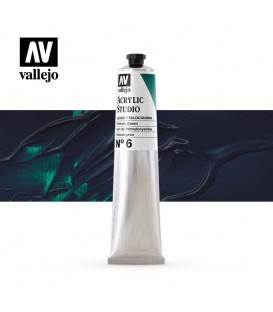 31) Acrylique Vallejo Studio 58 ml. 6 Vert de Phthalocyanin