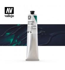 31) Acrilico Vallejo Studio 58 ml. 6 Verde Ftalocianina