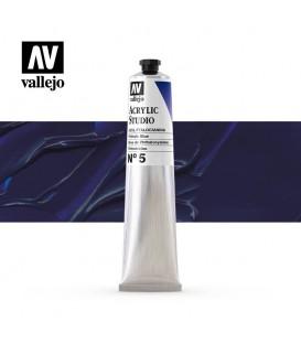 24) Acrilic Vallejo Studio 58 ml. 5 Blau Ftalocianina