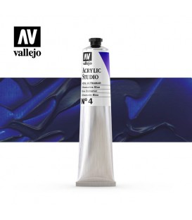 23) Acrylique Vallejo Studio 58 ml. 4 Blue Outremer