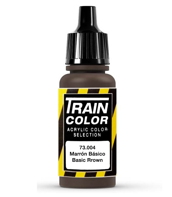 73.004 Basic Brown Train Color (17ml.)
