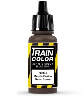 73.004 Basic Brown Train Color (17ml.)
