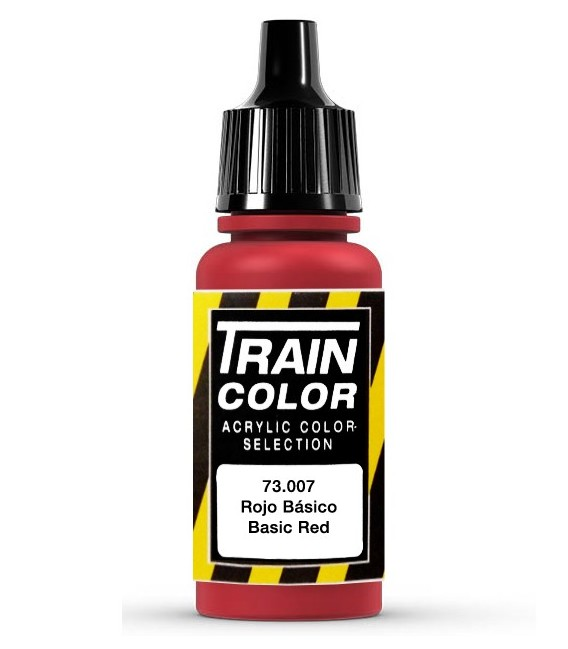 73.007 Rouge Basique Train Color (17ml.)