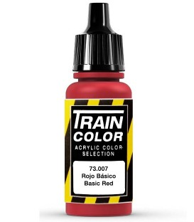 73.007 Basic Red Train Color (17ml.)
