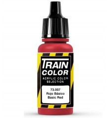 73.007 Rojo Basico Train Color (17ml.)