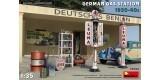 35598 German Gas Station 1930-40s