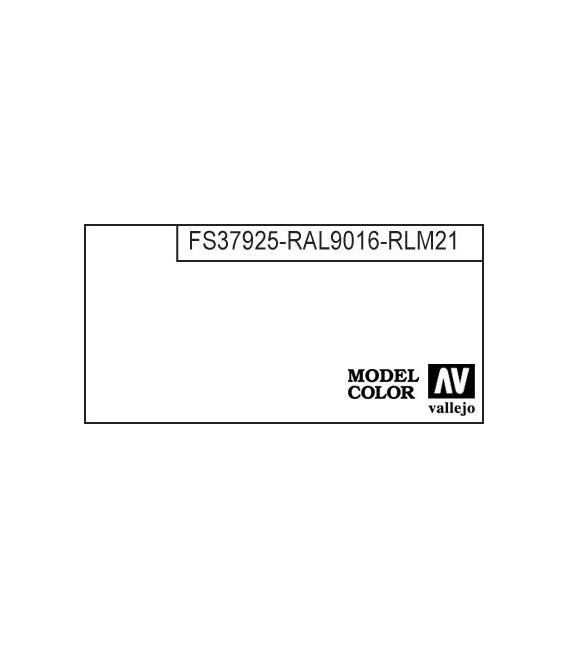 001) 70.951 White Model Color (17ml.)