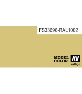 009) 70.916 Sand Yellow Model Color (17ml.)