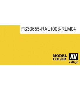015) 70.953 Flat Yellow Model Color (17ml.)