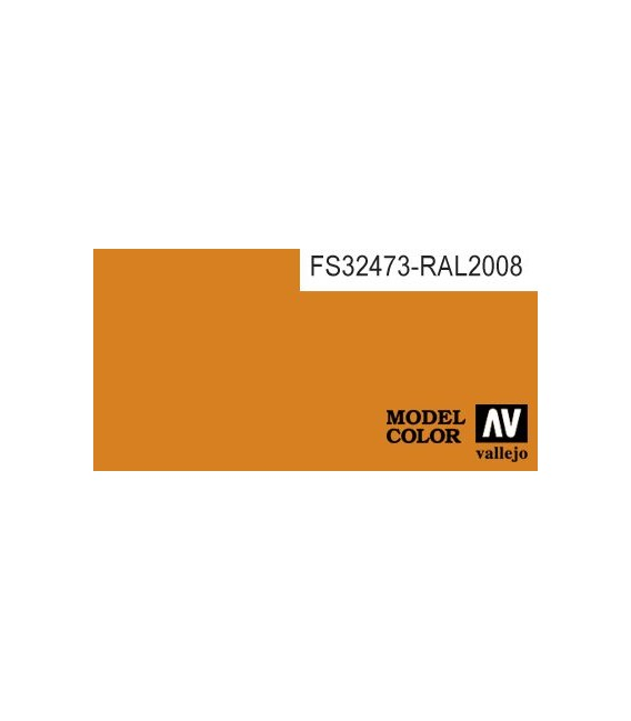 022) 70.911 Light Orange Model Color (17ml.)