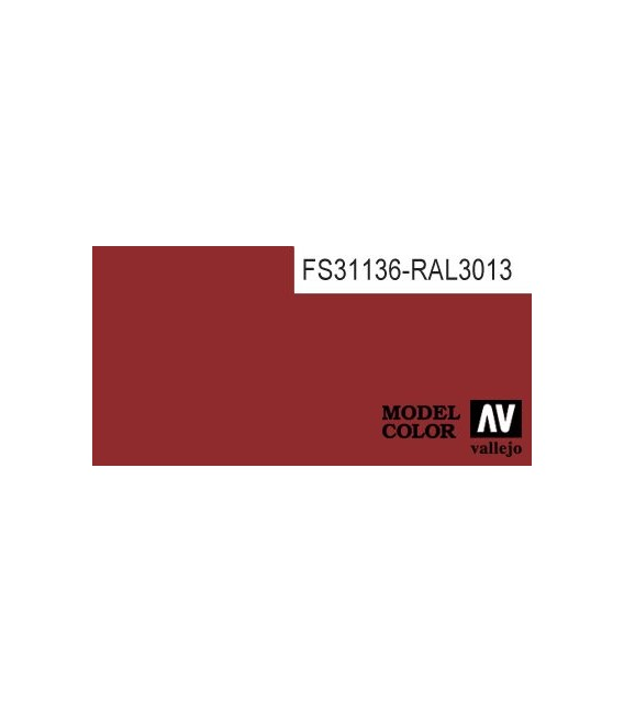 031) 70.957 Flat Red Model Color (17ml.)