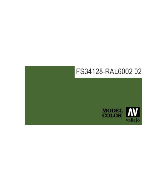 083) 70.968 Flat Green Model Color (17ml.)