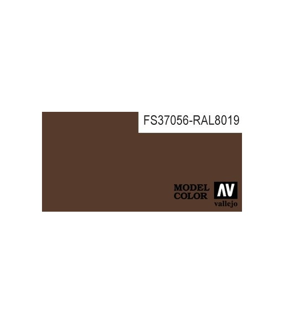 150) 70.822 A. Cam. Pardo Negro Model Color (17ml.)