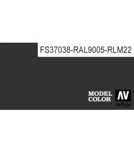 169) 70.950 Black Model Color (17ml.)
