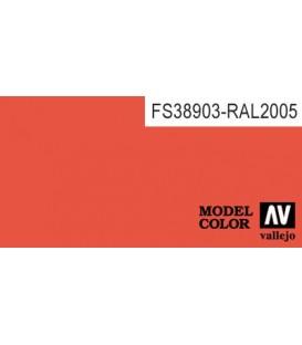 207) 70.733 Orange Fluo Model Color (17ml.)