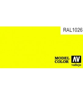 206) 70.730 Amarillo Fluo Model Color (17ml.)
