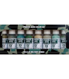 Set Vallejo Panzer Aces (17 ml.) Nº 3 Uniformes Tripulants