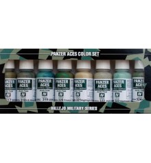 Set Vallejo Panzer Aces (17 ml.) Nº 3 Uniformes Tripulantes