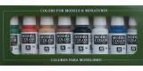 Set Vallejo Model Color 8 u. (17 ml.) Wargames Basics