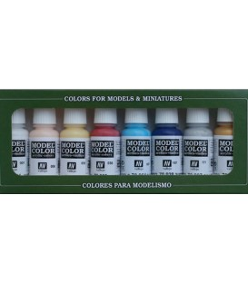 Set Vallejo Model Color 8 u. (17 ml.) High Elves