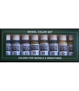 Set Vallejo Model Color 8 u. (17 ml.) Panzer Colors