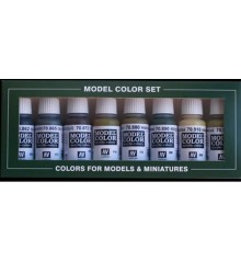 Set Vallejo Model Color 8 u. (17 ml.) Panzer Colors