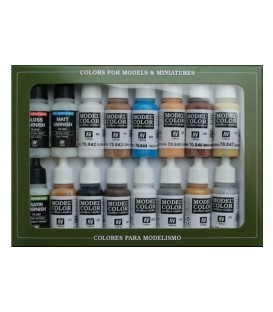 Set Vallejo Model Color 16 u. (17 ml.) Folkstone Specialist
