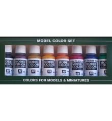 Set Vallejo Model Color 8 u. (17 ml.) Transparent Colors