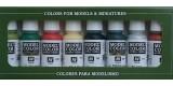 Set Vallejo Model Color 8 u. (17 ml.) Orcos y Goblins