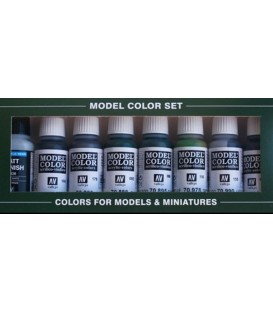 Set Vallejo Model Color 8 u. (17 ml.) Demag Africa Corps