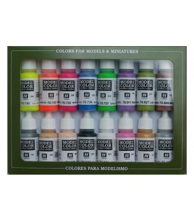 Set Vallejo Model Color 16 u. (17 ml.) Wargame Special