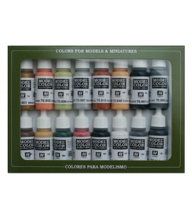 Set Vallejo Model Color 16 u. (17 ml.) German Colors WWII